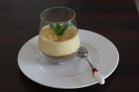 cheesecake a la mangue et au chocolat blanc