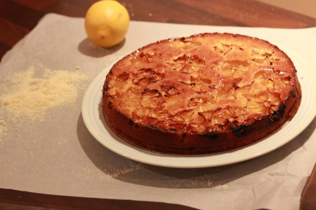 cake au citron et a l'amande