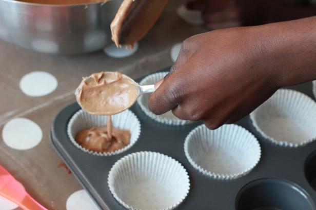 preparation de muffin
